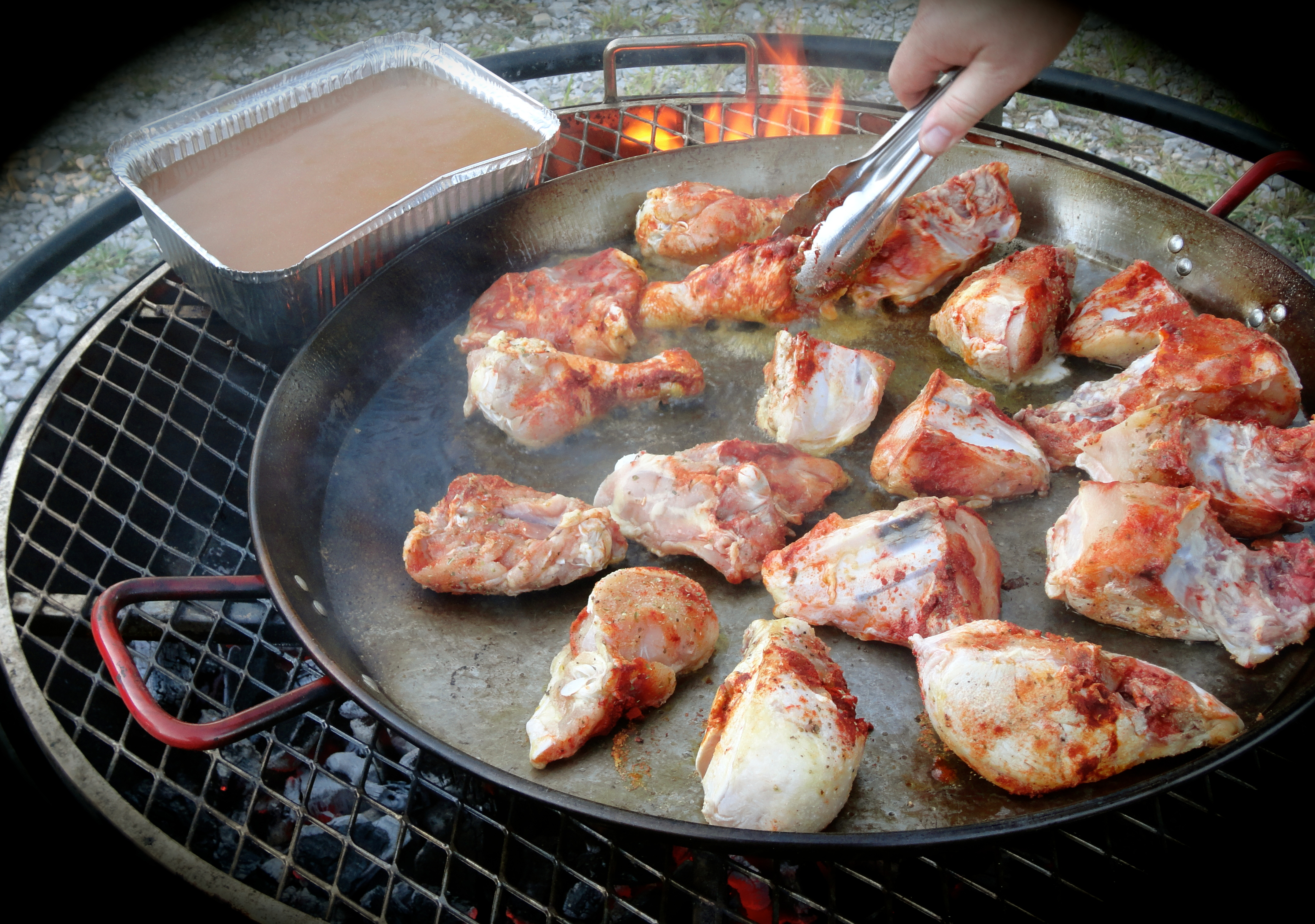 Browning Spanish Marinated Chicken