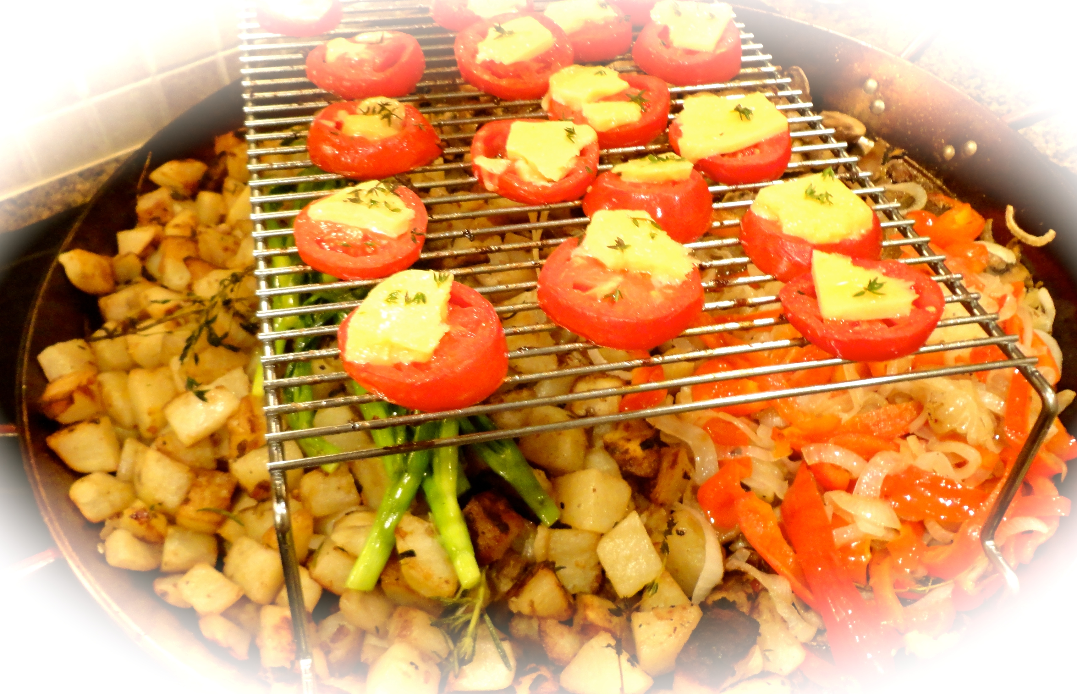 grilled vegetables of the season