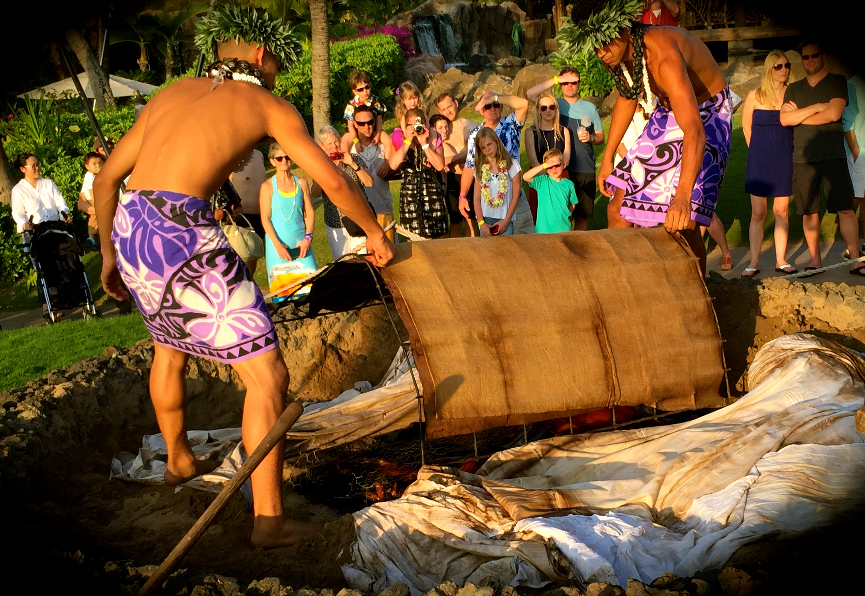 luau-uncovering the pig