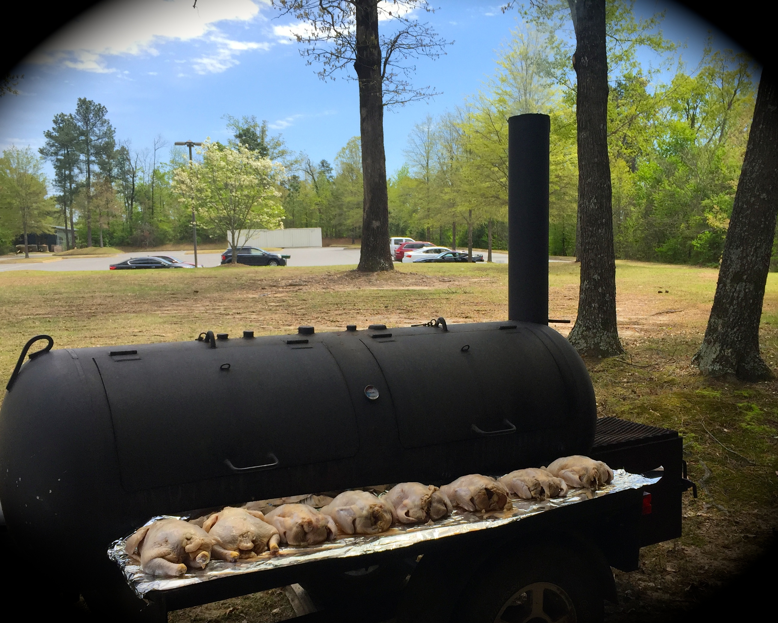 "brined chickens await entry into ""Your Honor"""