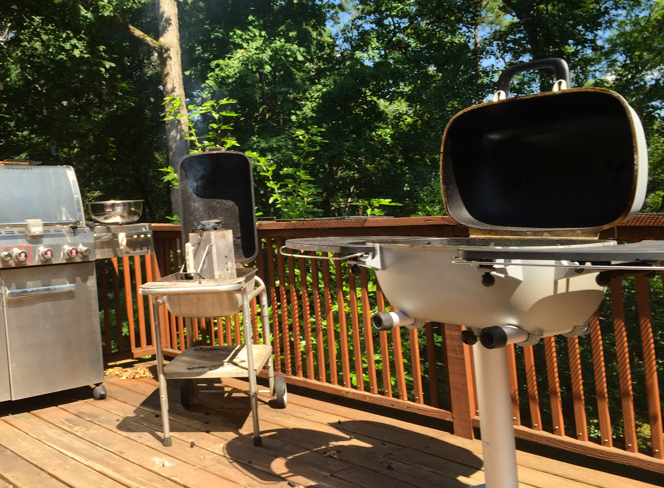 Grill Convention on Convivial Boar's deck